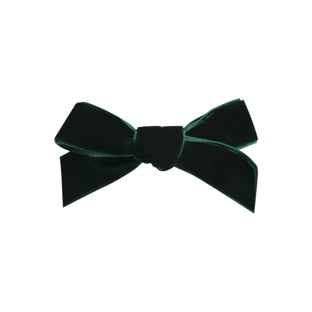 Image of Hunter French Velvet Bow Clip