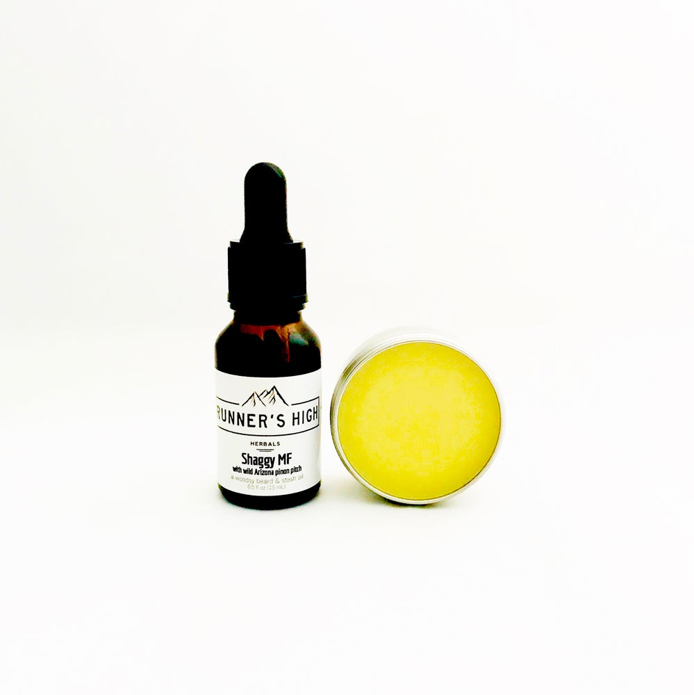 Image of Shaggy MF Oil & Balm | a sample combo