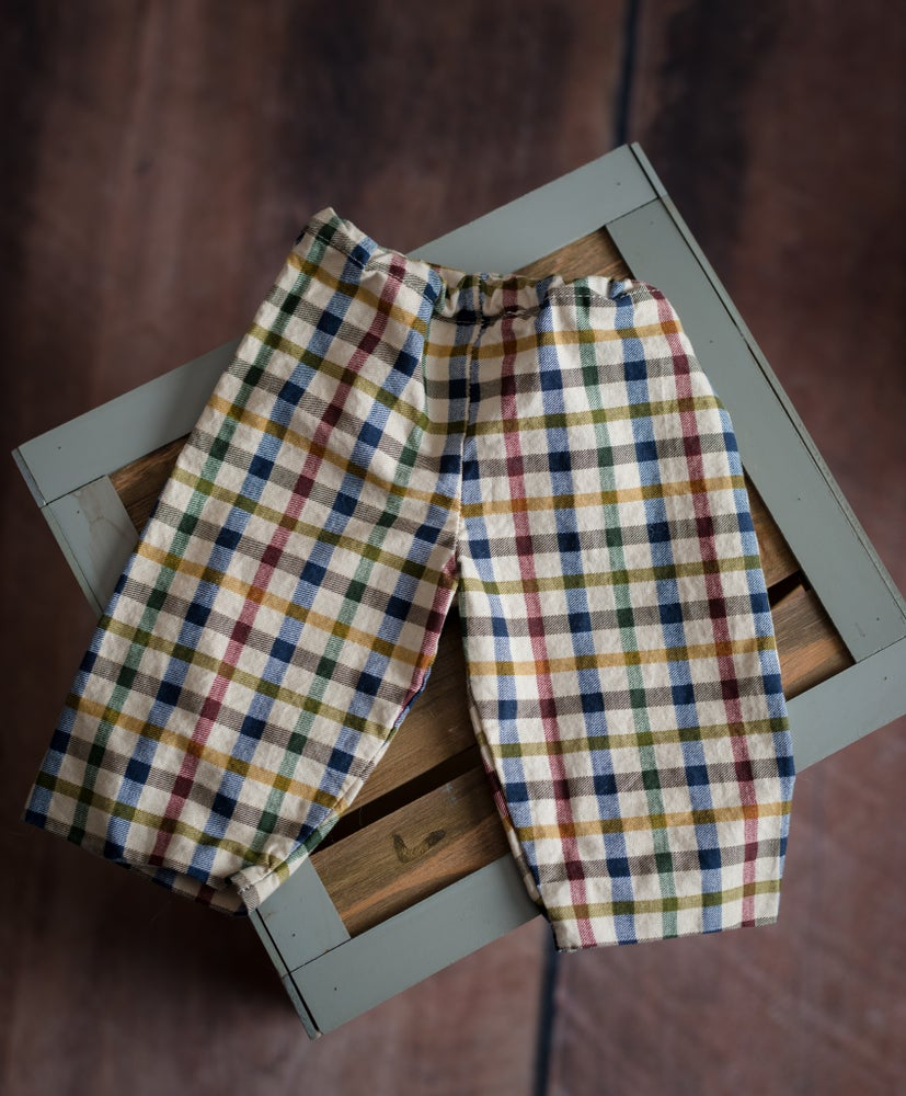 Image of Newborn Pants Plaid
