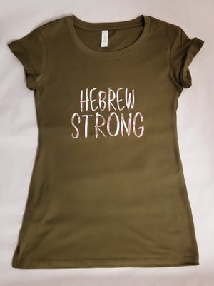 Image of Ladies Hebrew Strong