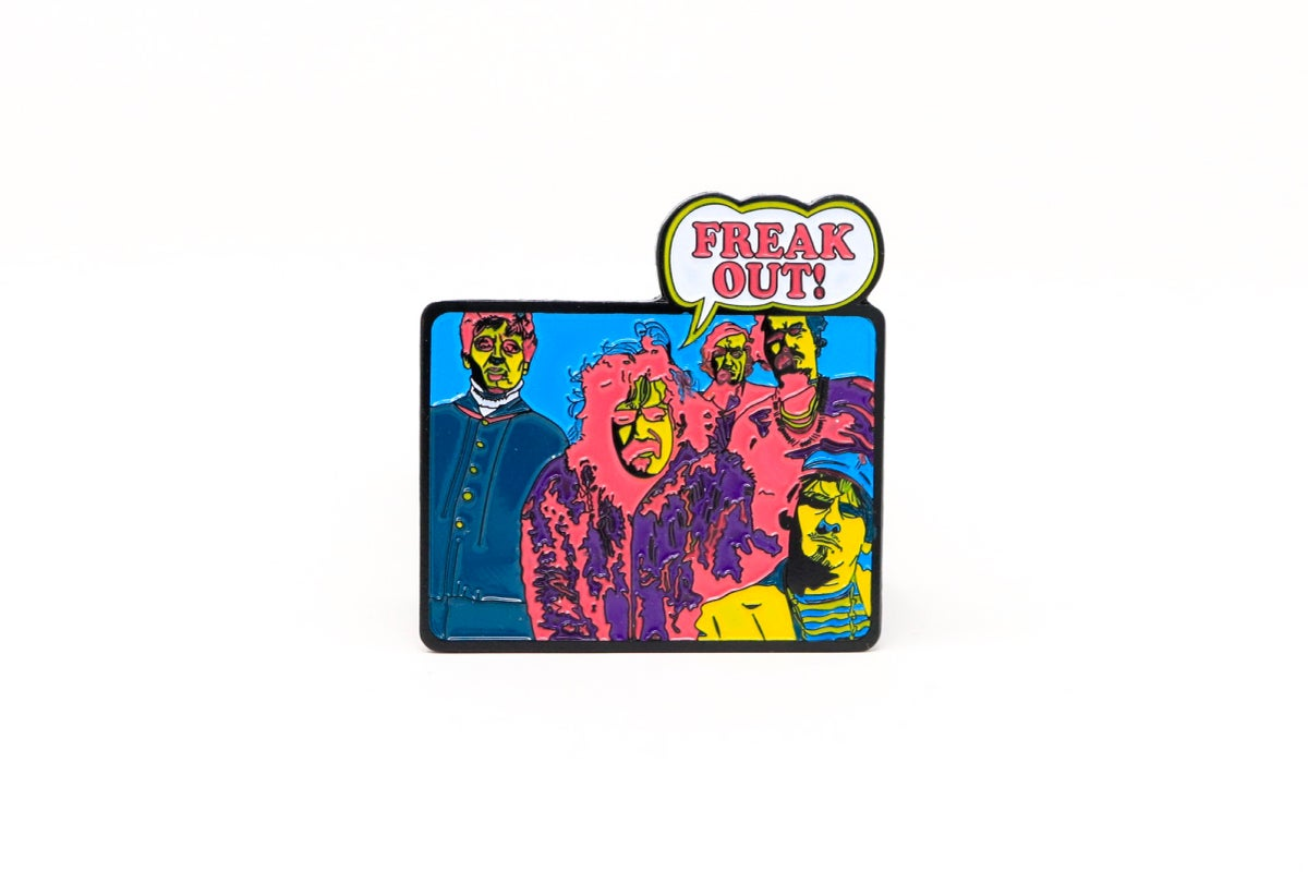 Image of Freak Out! Album Enamel Pin