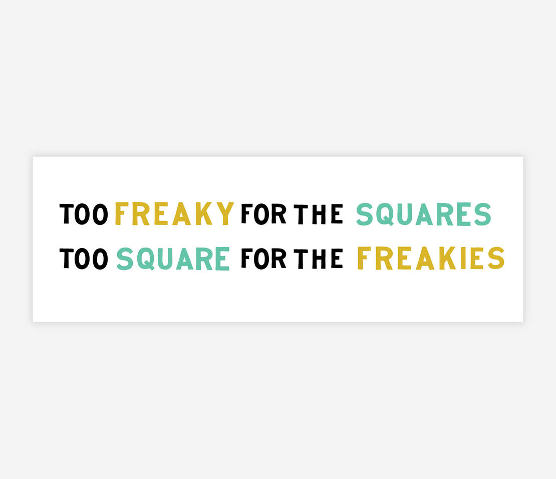 Image of TOO SQUARE