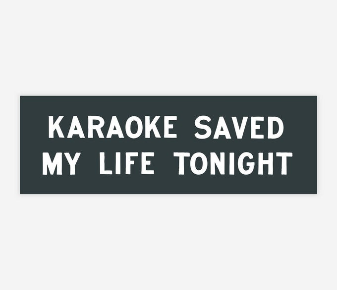 Image of KARAOKE SAVE MY LIFE TONIGHT