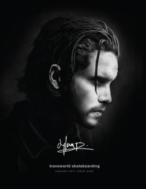 Image of Dylan Rieder - TransWorld SKATEboarding Cover