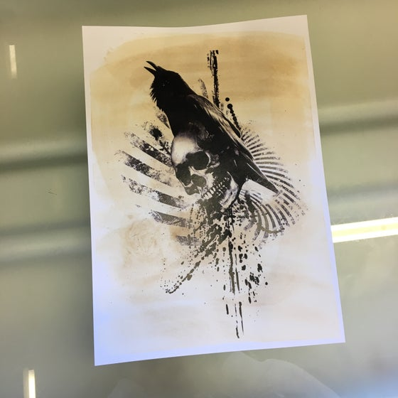 Image of Crow print