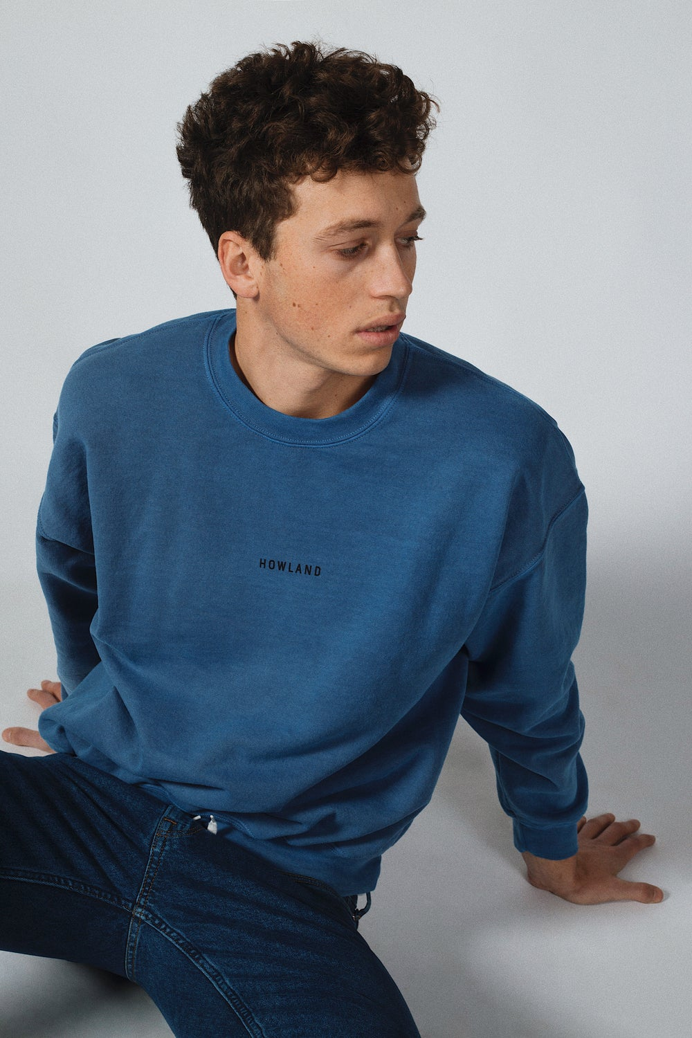 Image of WASHED SWEATER