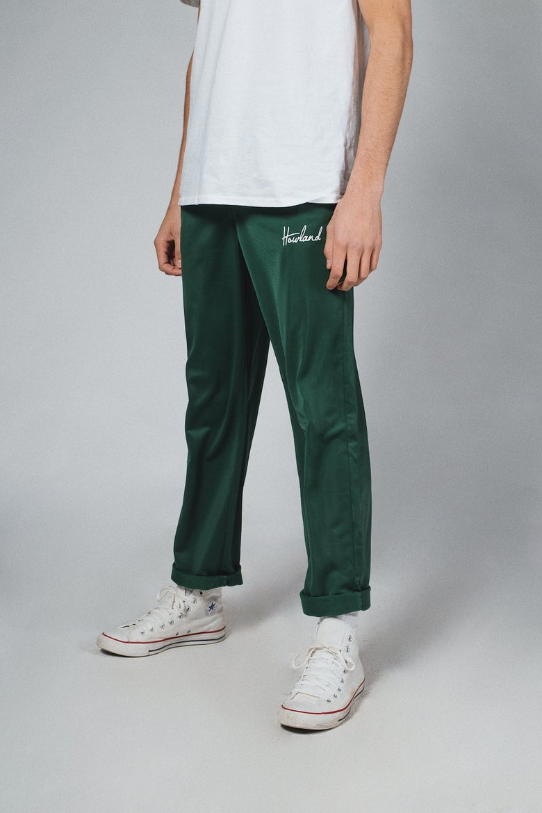 Image of 2k18 BOTTLE GREEN PANT