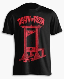 Image of Death By Pizza T-Shirt