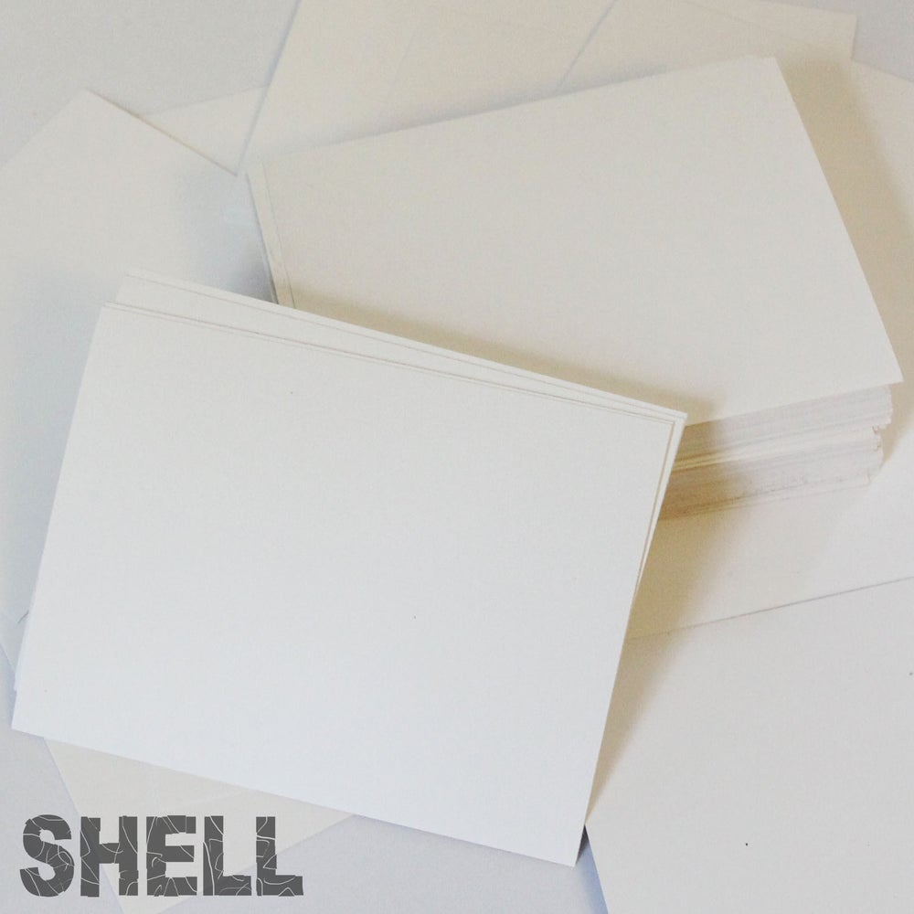 Image of White SIVE Shell Blanks (Assorted Sizes)