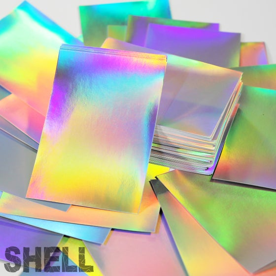 Image of Holographic SIVE Shell Blanks (Assorted Sizes)