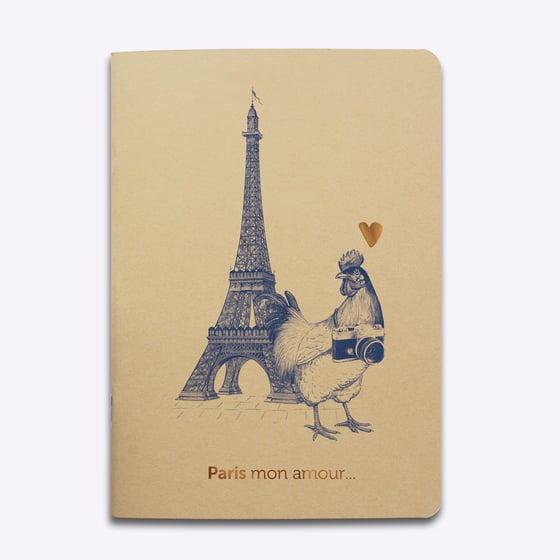 """Image of CAHIER """"Paris mon Amour"""""""