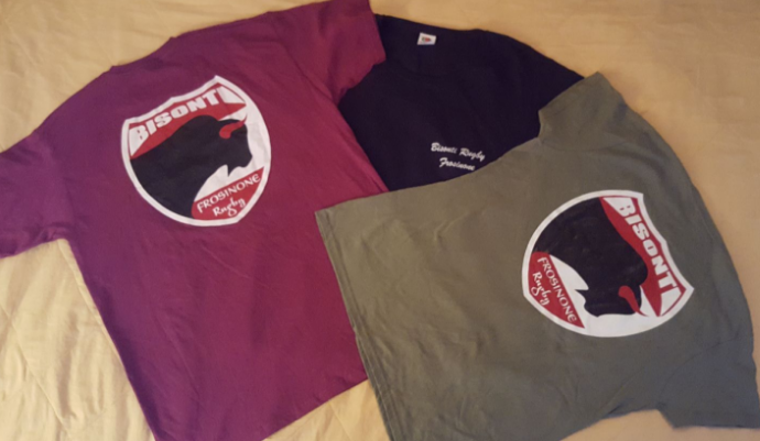 Image of T-Shirt BISONTI RUGBY