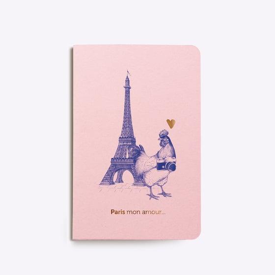 """Image of CARNET COUSU """"PARIS MON AMOUR"""""""