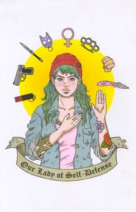 "Image of ""Our Lady of Self-Defense"""