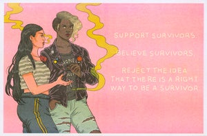 "Image of ""Support Survivors"""