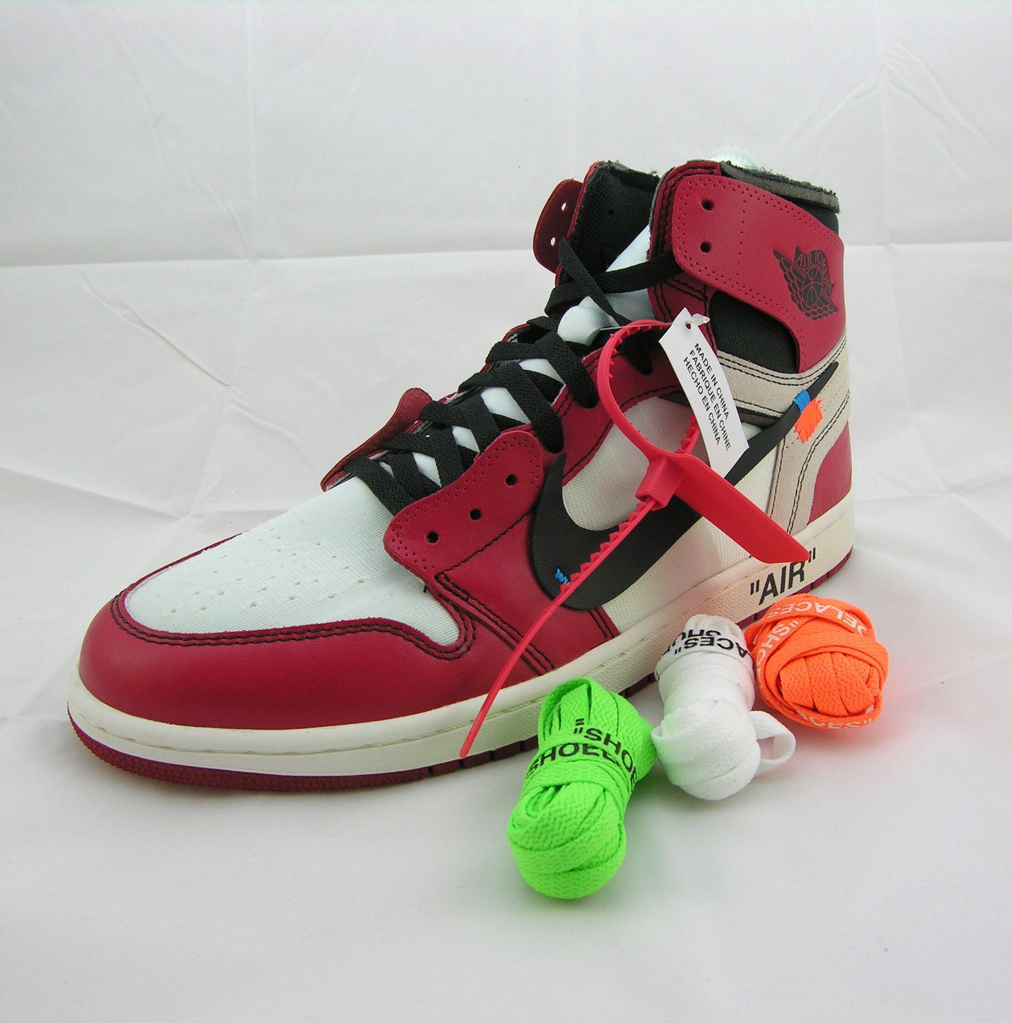 87e7ed091d6d Image of Nike x Off White Air Jordan 1  Chicago