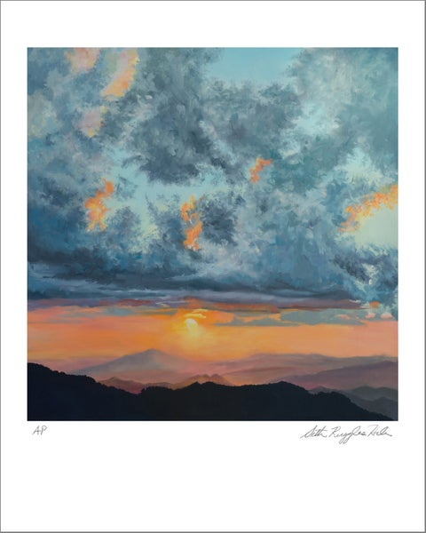 "Image of ""North Carolina Sunset"" print"