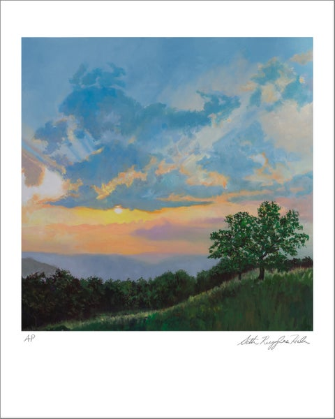 "Image of ""Sunset on the Shenandoah"" Print"
