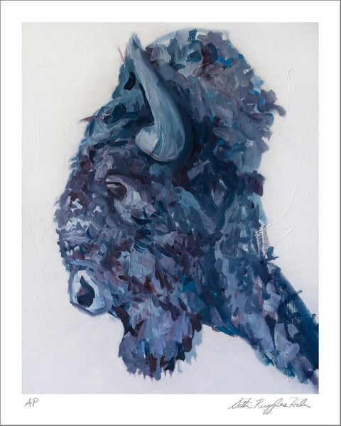 "Image of ""American Bison"" Print"