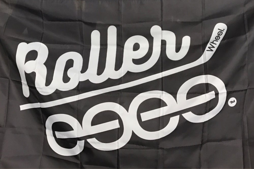 Image of The Original Roller. Flag