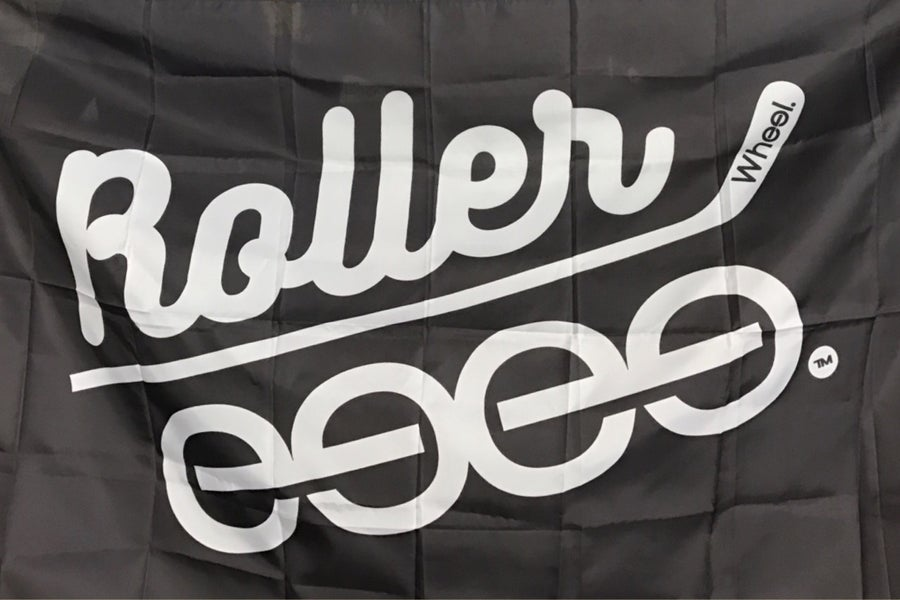 Image of The Original Roller. Flag