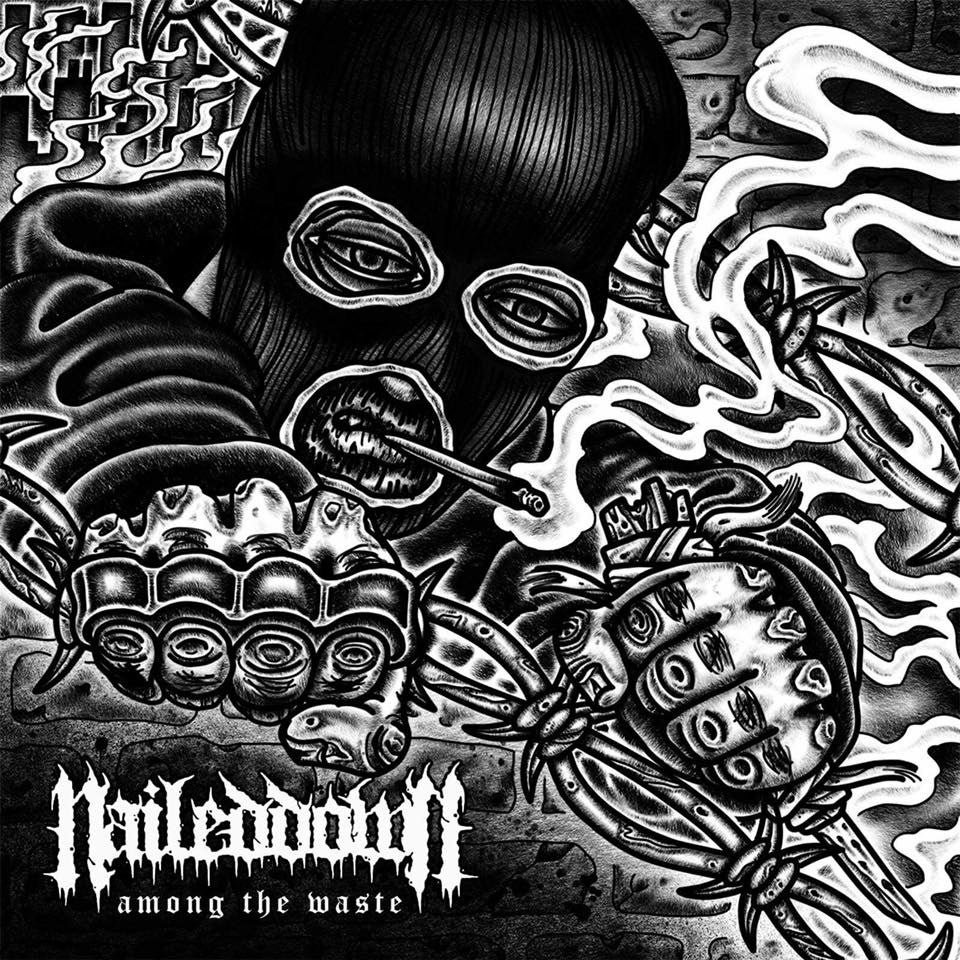 Image of Nailed Down - Among The Waste CD