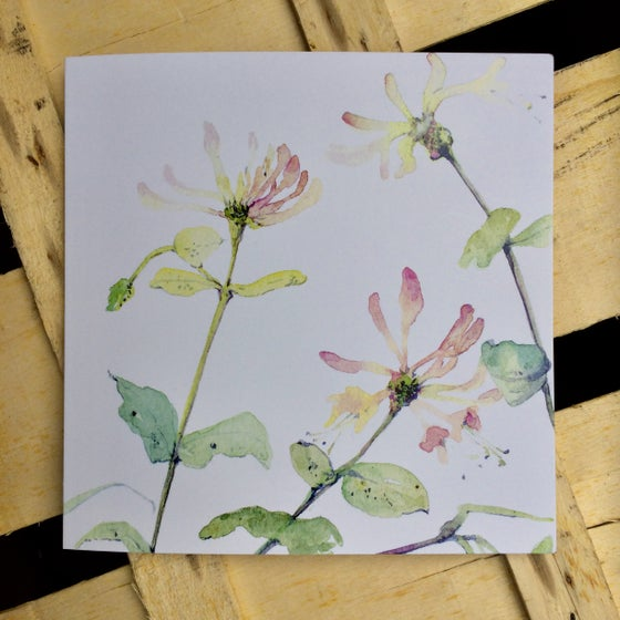 Image of Honeysuckle Greetings Card