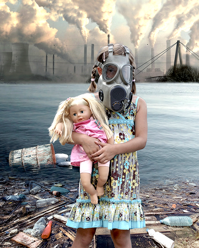 Image of Pollution Baby - Fine Art Print