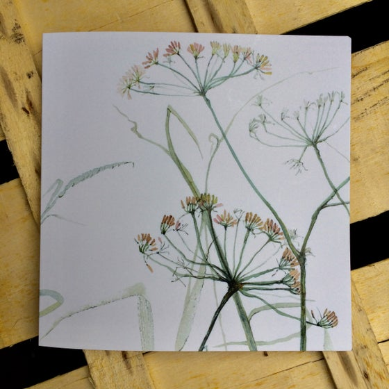 Image of Fennel Greetings Card