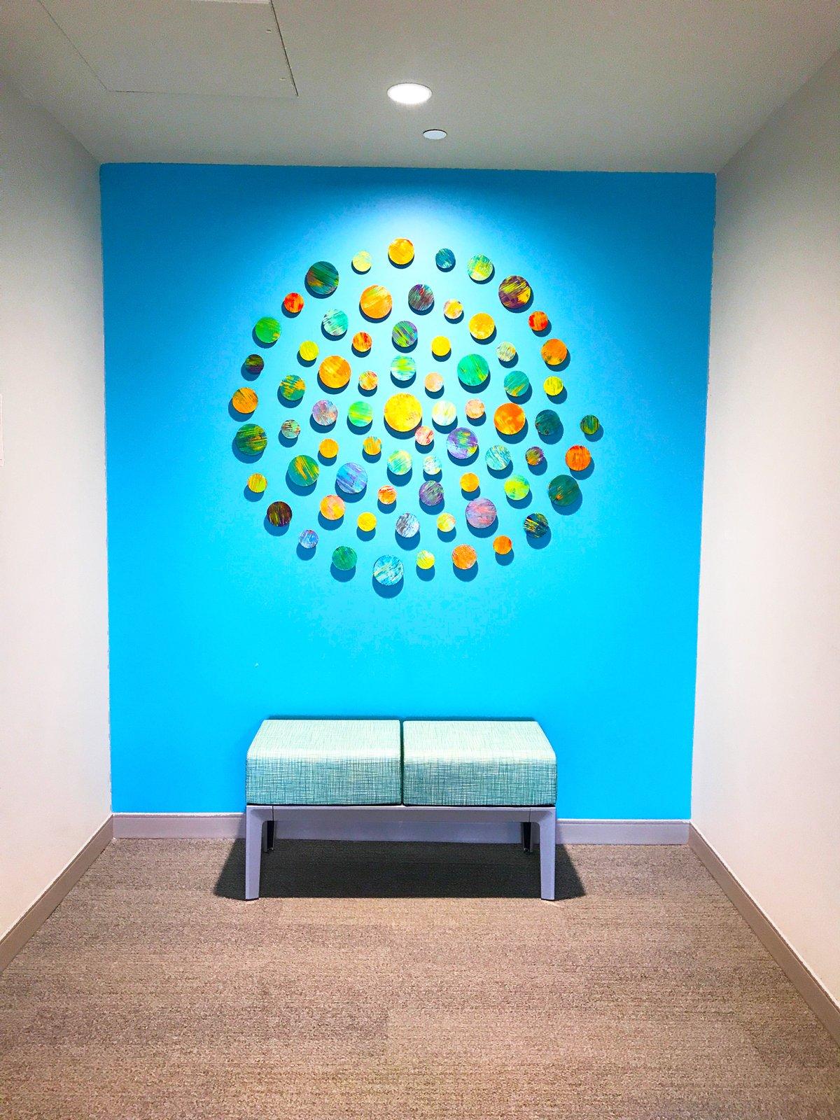 ... Image Of Circles 3D Wall Art | Modern Art | Installation Art | Wood Wall  Sculpture ...