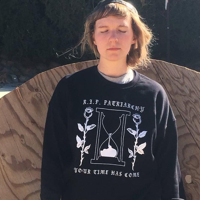 Image of R.I.P. Patriarchy Oversized Sweatshirt