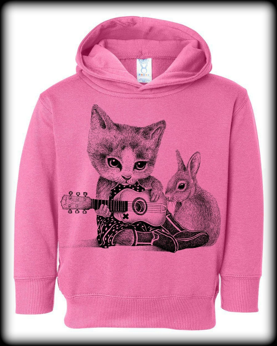 Image of Toddler Cat Hoodie