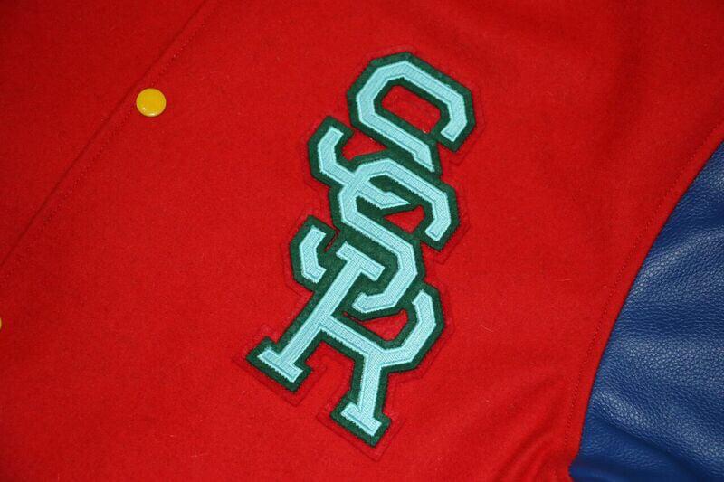 S S R Varsity Leather Jacket