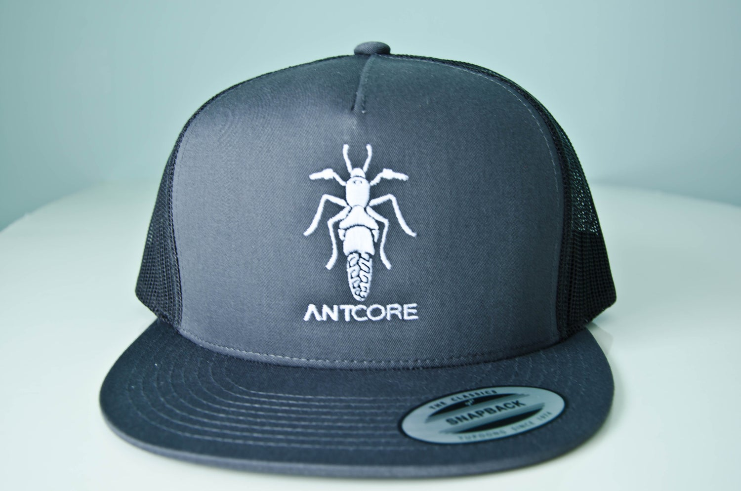 Image of CHARCOAL TRUCKER HAT - ANTCORE