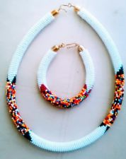 Image of Maasai Rope Necklace and bangle set
