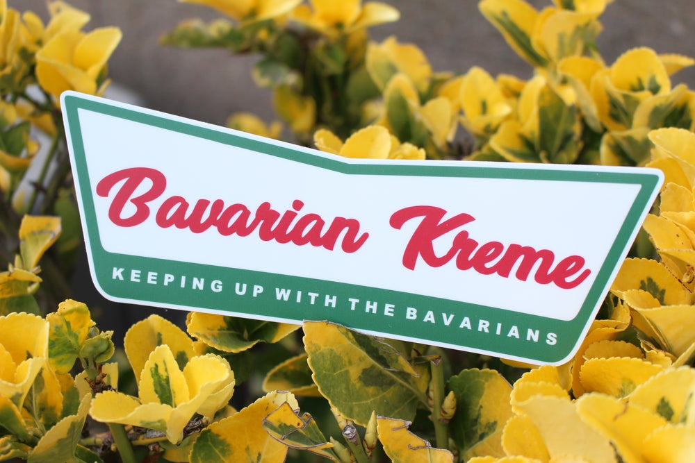 Image of Bavarian Kreme Logo Sticker