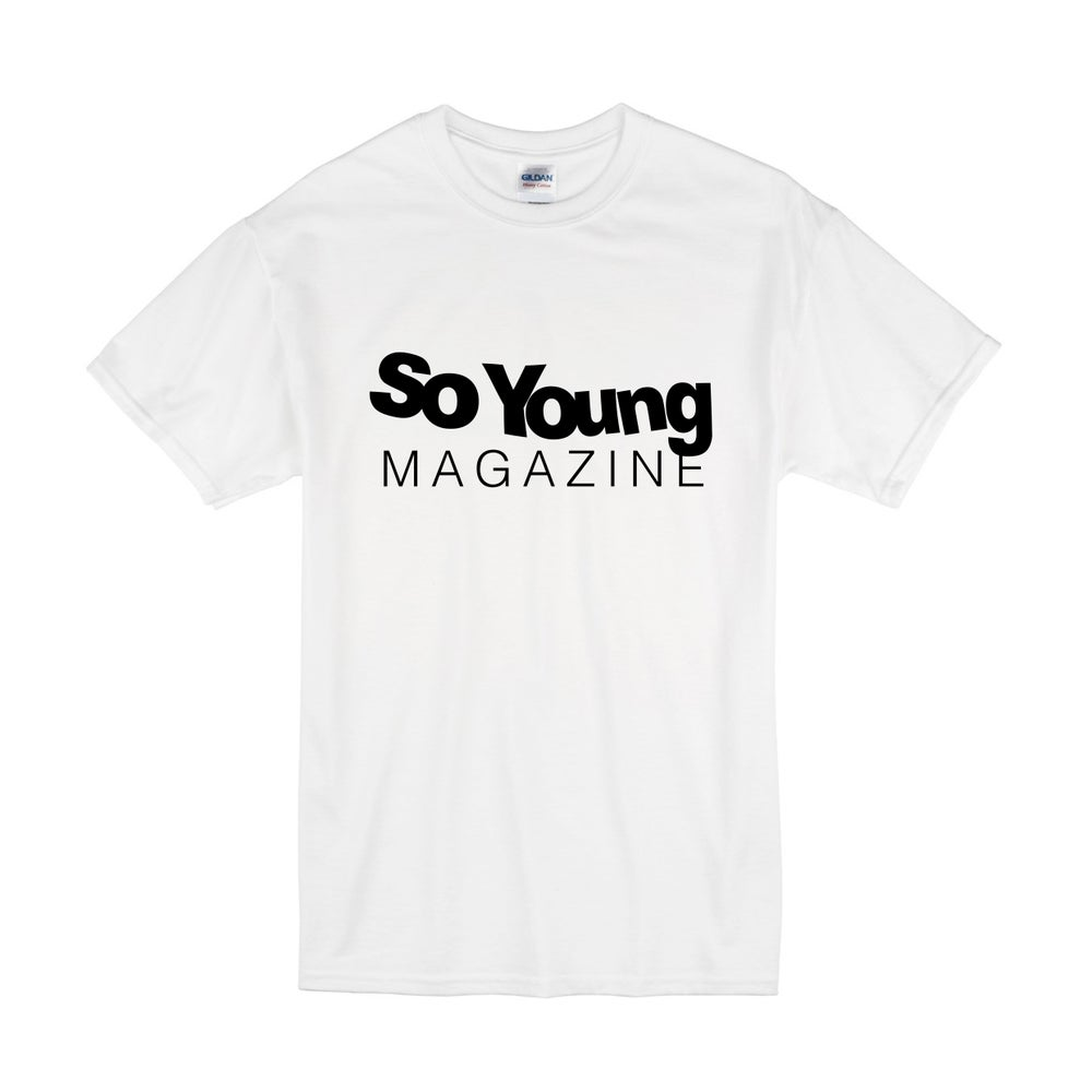 Image of So Young Logo T-Shirt. All Profit Donated to Black Lives Matter.