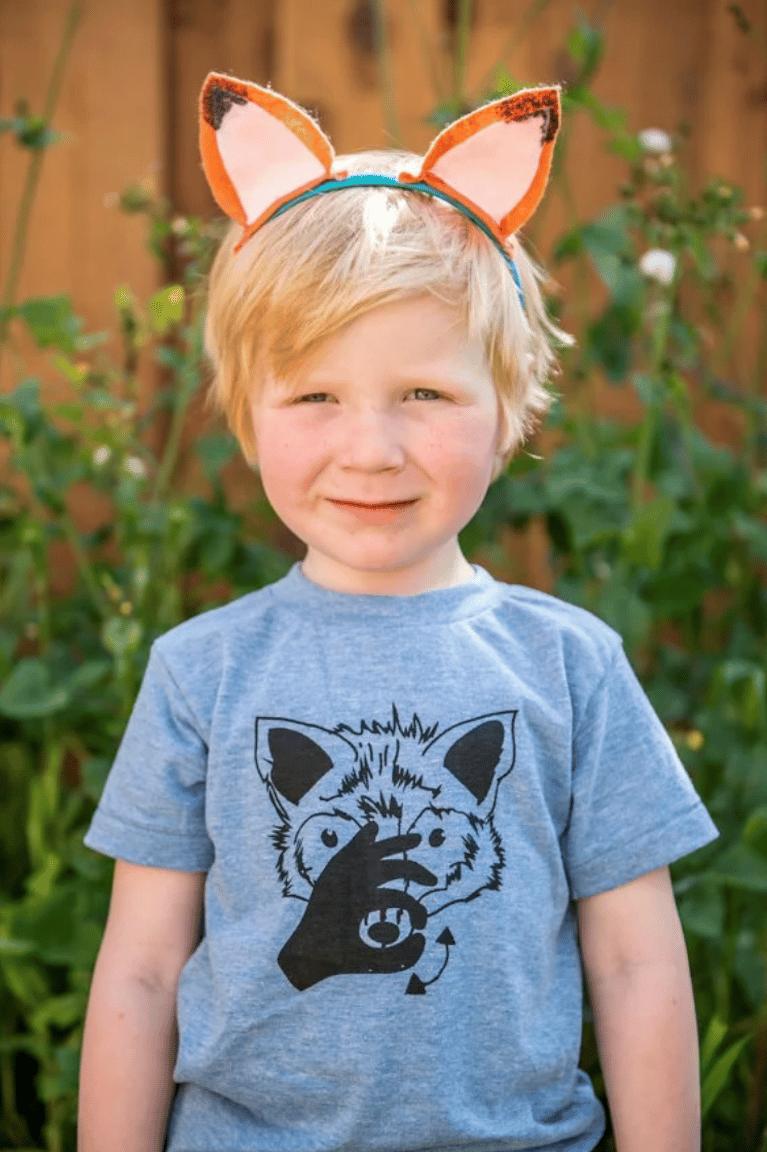Image of INFANT/CHILDREN ANIMAL ASL SHIRT