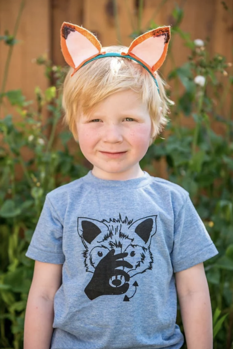 Image of EDITION 1: ADULt/CHILDREN/INFANT ANIMAL ASL SHIRT