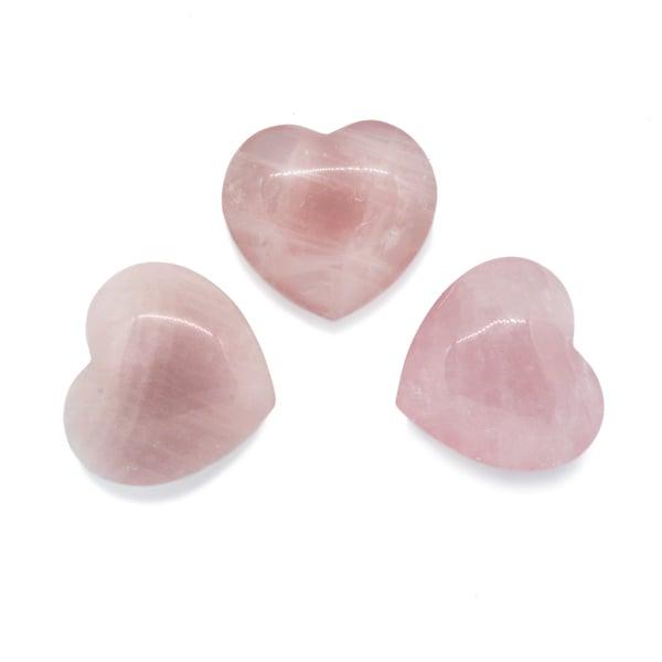 Image of Medium rose quartz heart