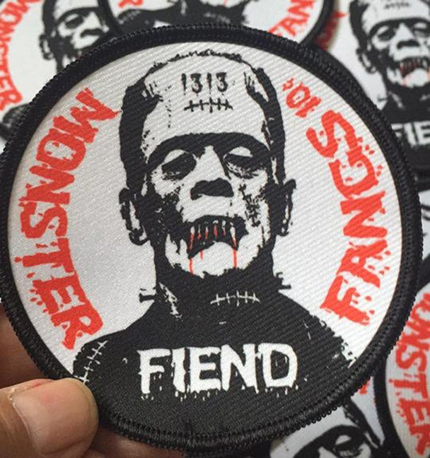 Image of MONSTER FIEND FANGS PATCH