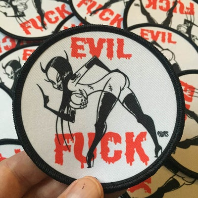 Image of EVIL FUCK PATCH