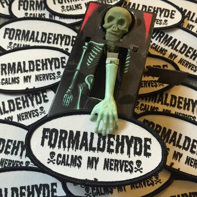 Image of FORMALDEHYDE CALMS MY NERVES PATCH