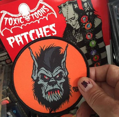 Image of WEREWOLF - ORANGE PATCH