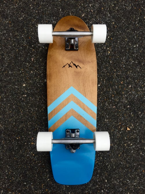 Image of Mountain Cruiser -- Bright Blue Two Color Gradient