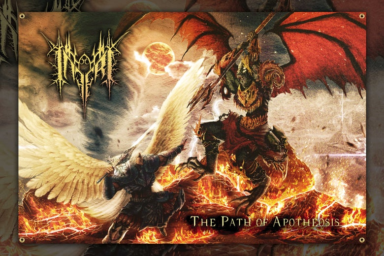 Image of INFERI - The Path of Apotheosis - Wall Flag