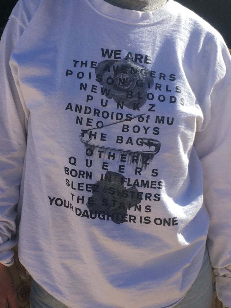 Image of We Are Your Daughters Long Sleeve