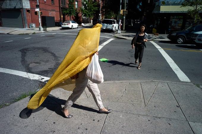 "Image of Print ""Bedstuy Veil"""