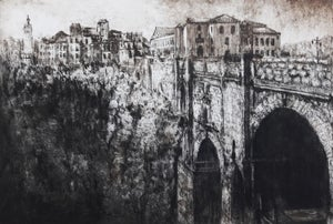Image of Bridge at Ronda, Andalusia, Spain