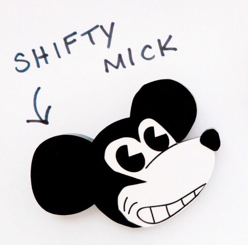 Image of Shifty Mick Brooch
